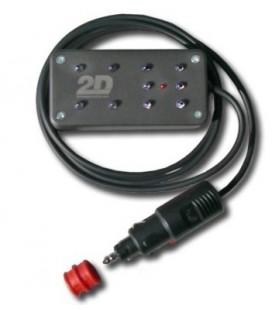 2D laptimer zender infrarood